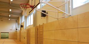 Sporthallenausbau