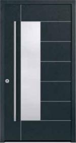 Aluminium-Holz-Haustüren